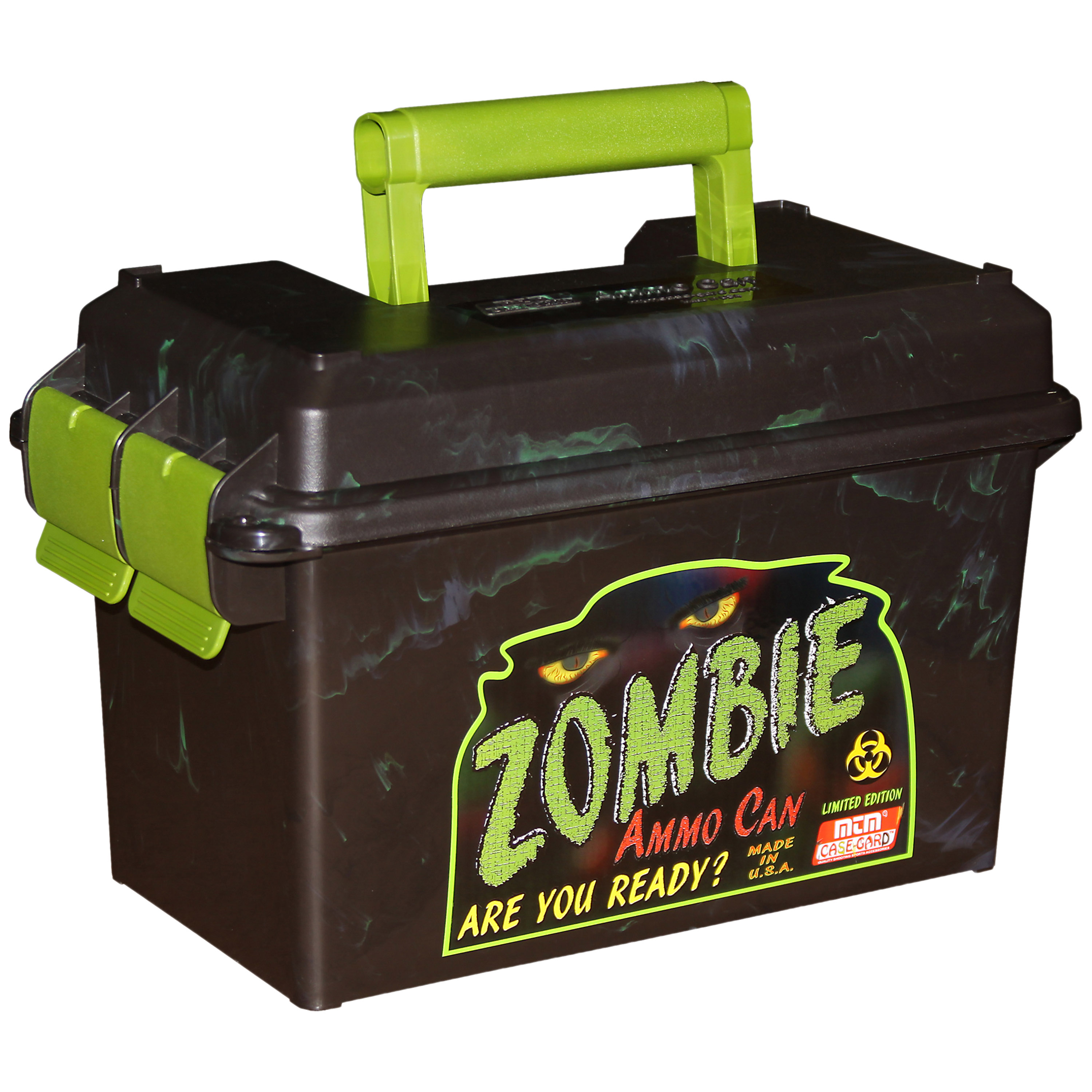 US Munitionskiste Kunststoff Zombie Ammo Can