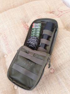 Pouch 7 mit Taschen- und Kopflam