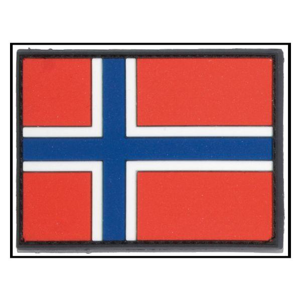 3D-Patch Flagge Norwegen