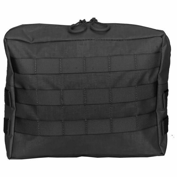 Zentauron Reissverschlusstasche Extra Large schwarz