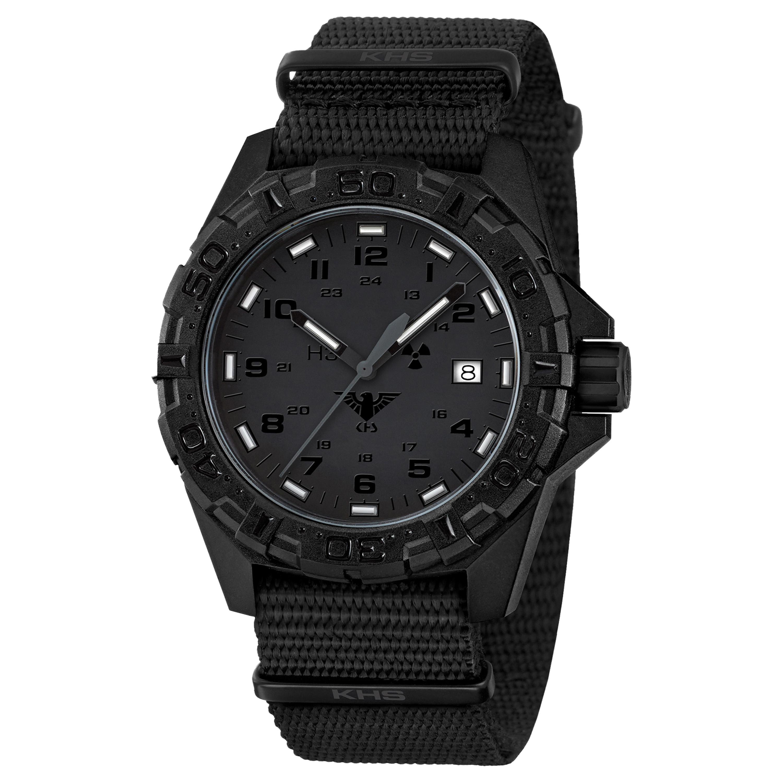 KHS Uhr Reaper XTAC Natoband schwarz