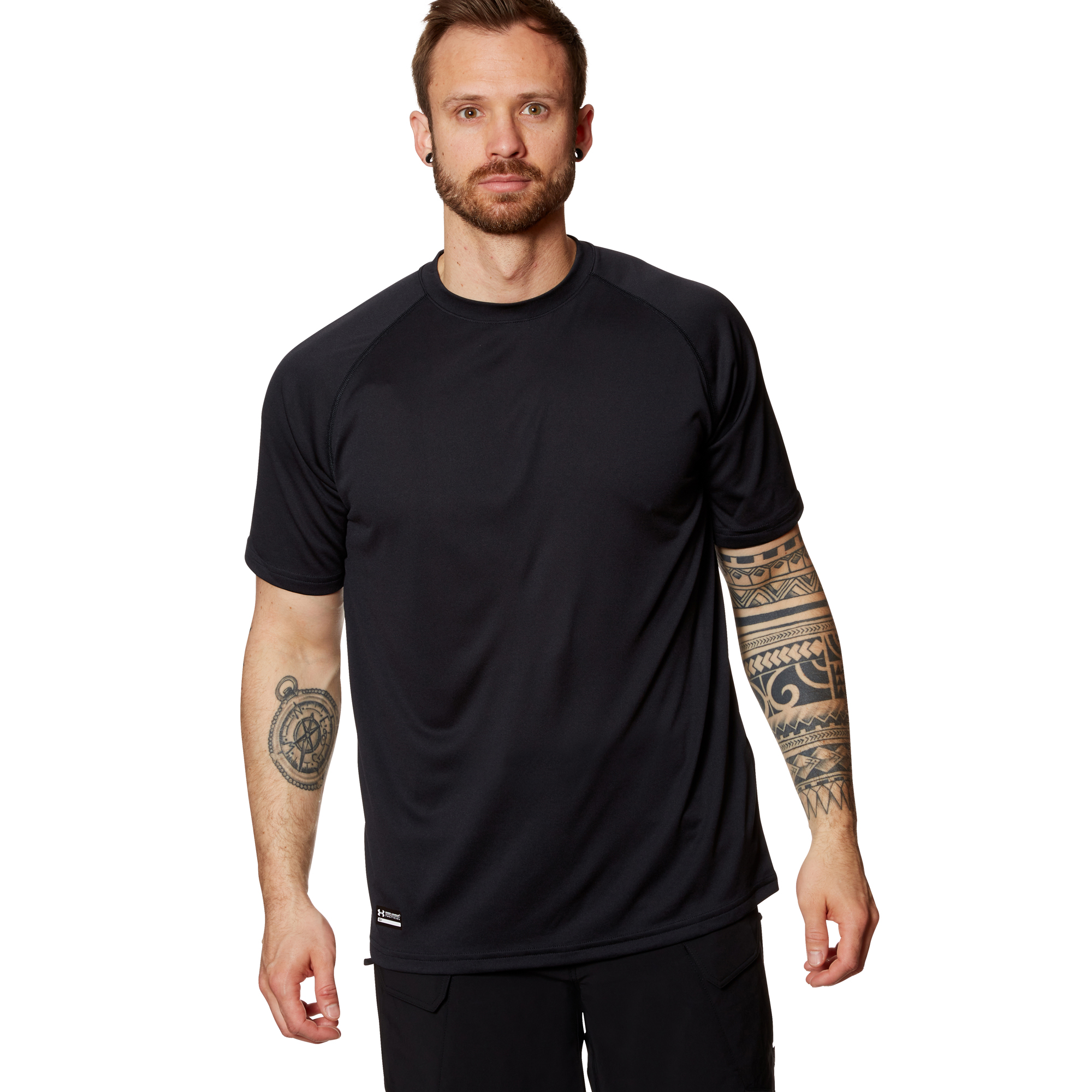 Under Armour Tactical T-Shirt Tech Tee HeatGear schwarz