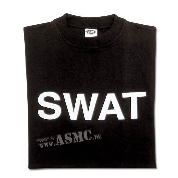 T-Shirt SWAT schwarz