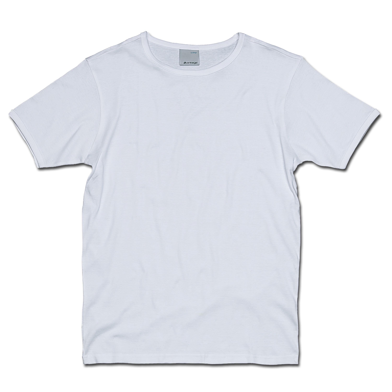 T-Shirt Vintage Industries Morrow weiß