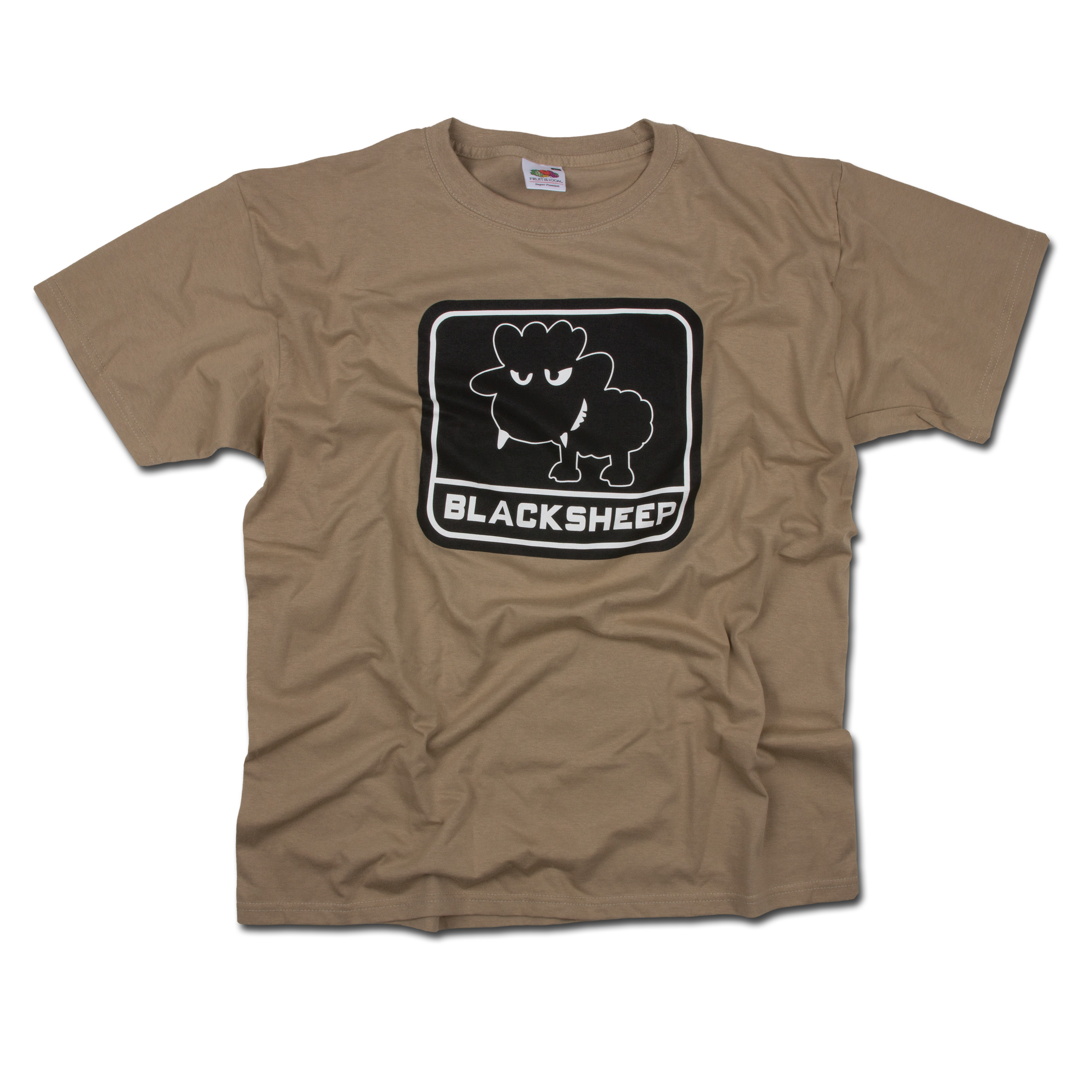 T-Shirt Little BlackSheep beige