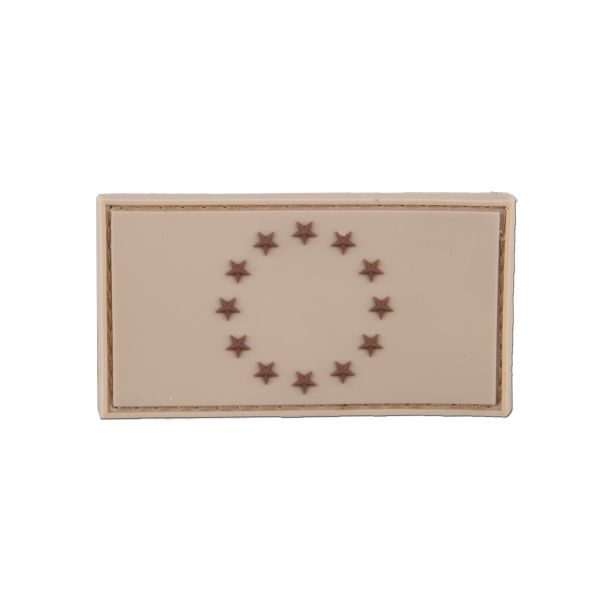 3D-Patch EU Flag tan