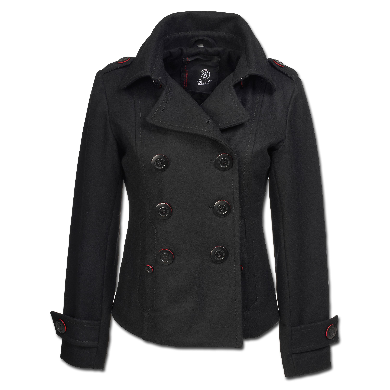 Jacke Brandit Ladies Upper East Coat schwarz
