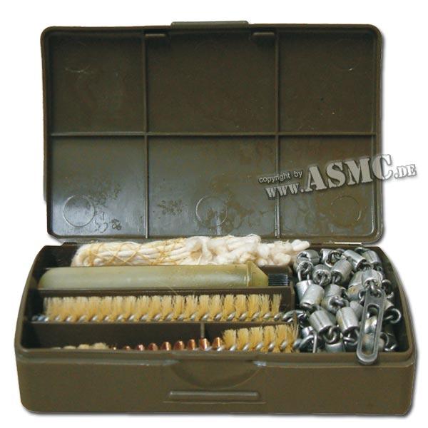 Waffenreinigungsset G3 in Plastikbox