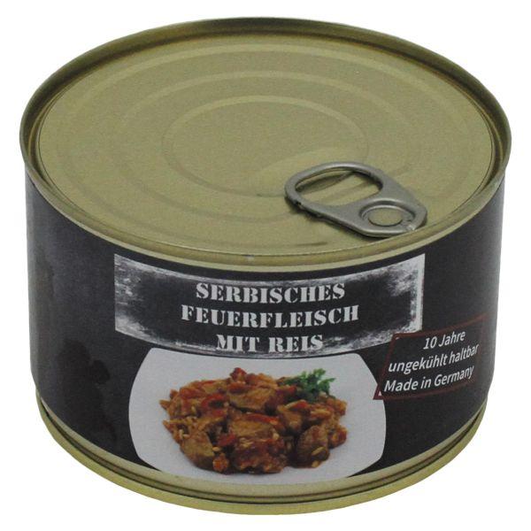MFH Serbisches Feuerfleisch mit Reis Vollkonserve 400 g