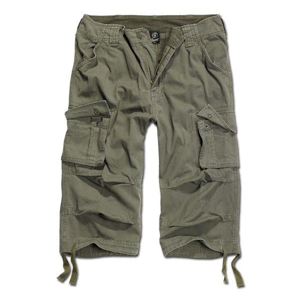 Brandit Shorts 3/4 Urban Legend oliv