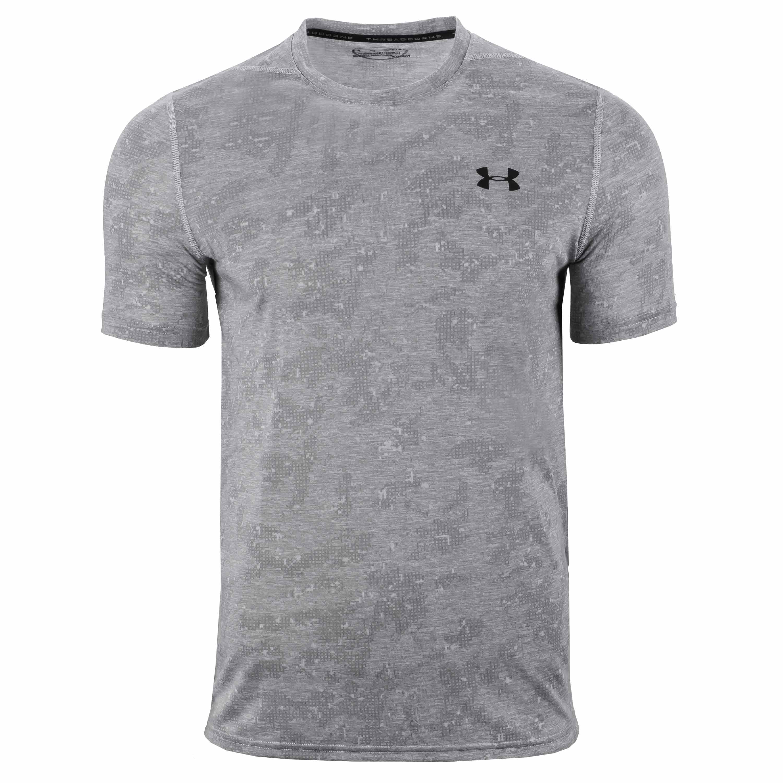Under Armour Shirt Threadborne FTD grau meliert