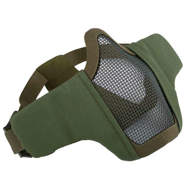 Invader Gear Gittermaske Mk.II Steel Half Face Mask oliv