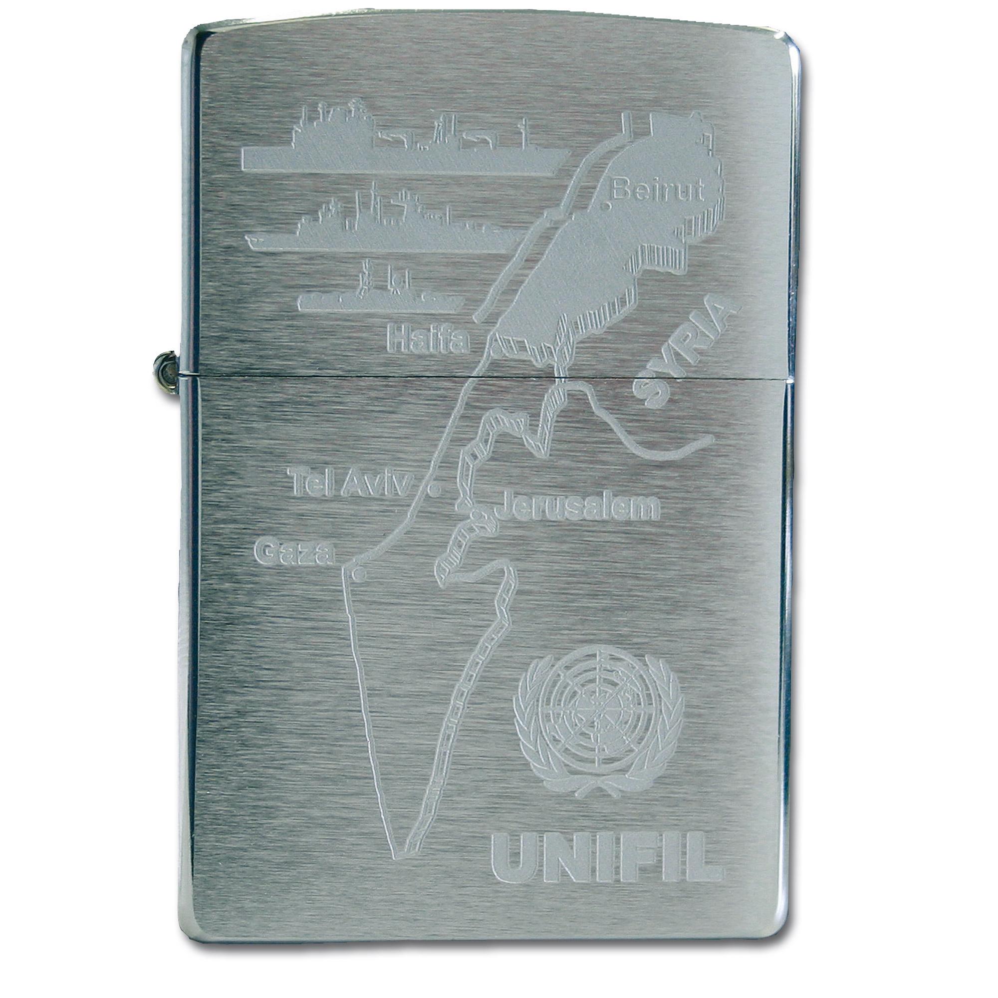 Zippo mit Gravur UNIFIL
