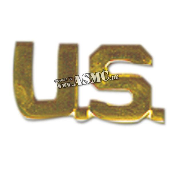 Kragenspiegel US (Letters) gold