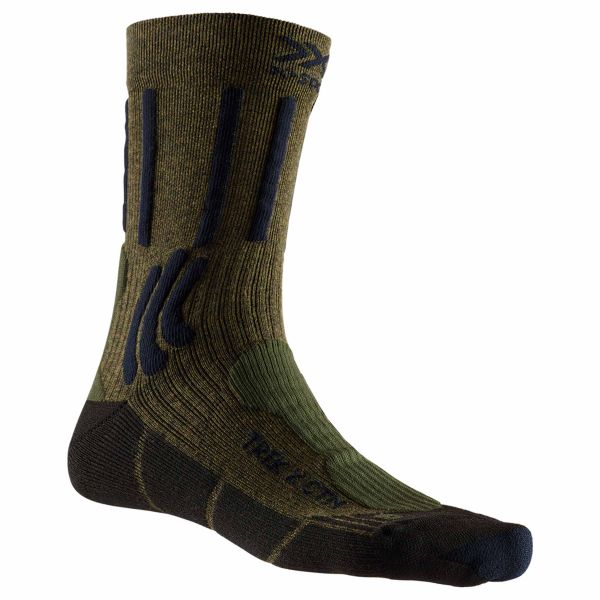 X-Socks Socken Trek X CTN grün