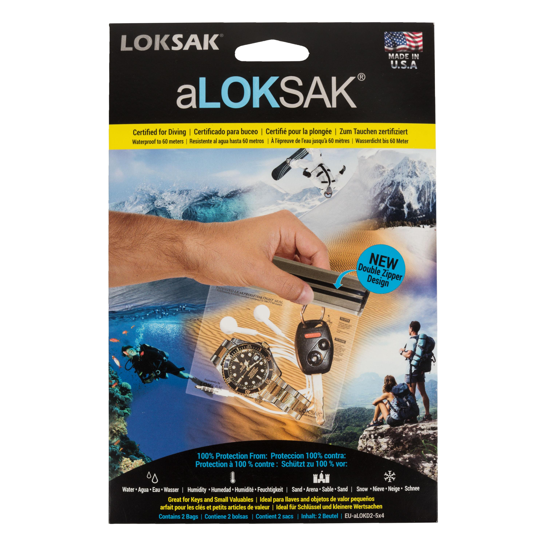 aLoksak 2-er Pack 12 x 10.2 cm