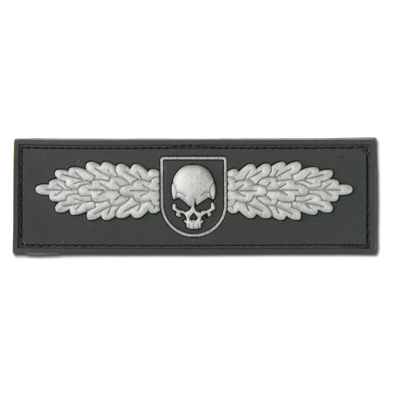 3D-Patch SOF Skull Badge swat