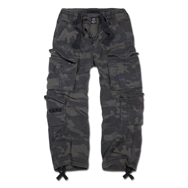 Hose Brandit Pure Vintage Trouser darkcamo