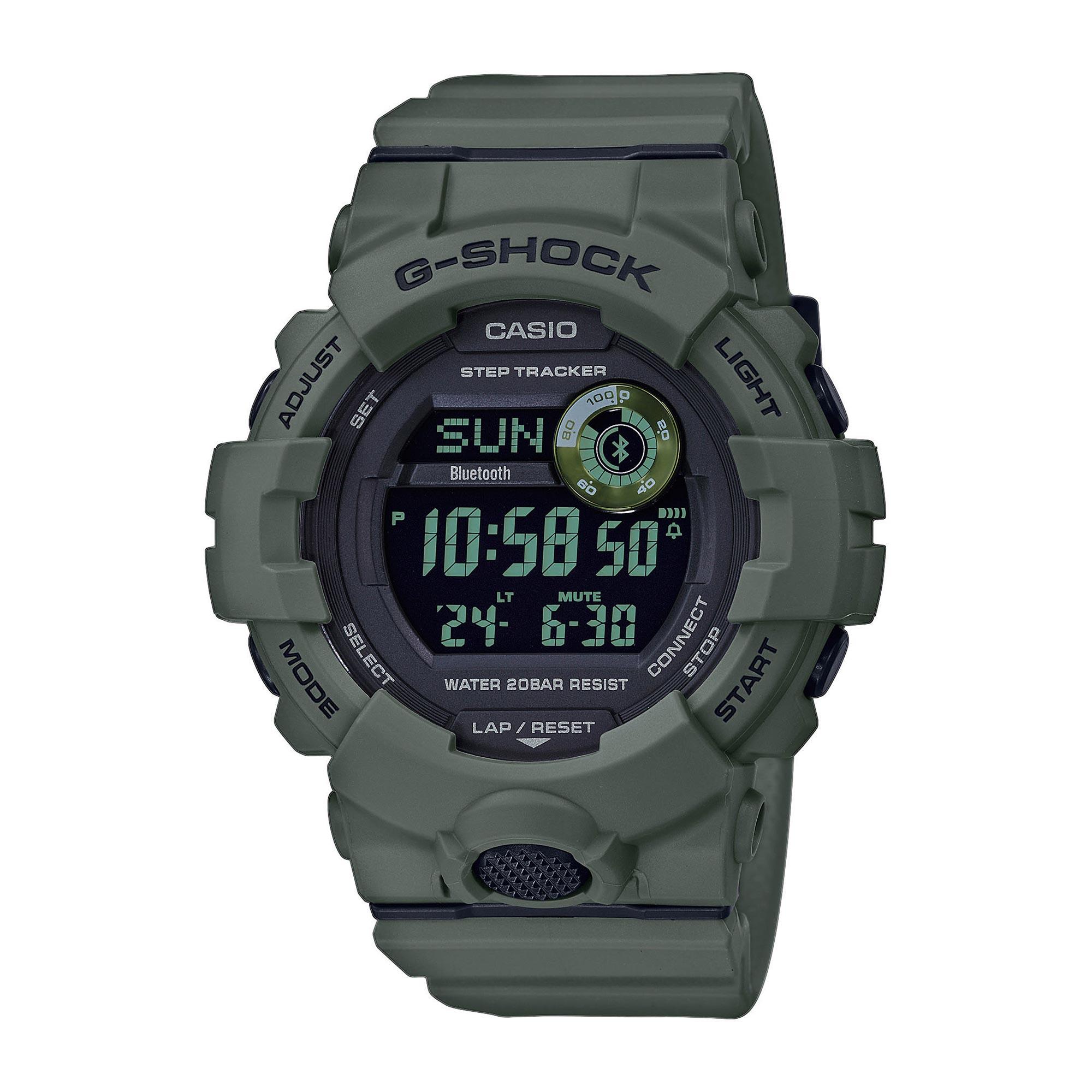 Casio Uhr G-Shock G-Squad GBD-800UC-3ER oliv
