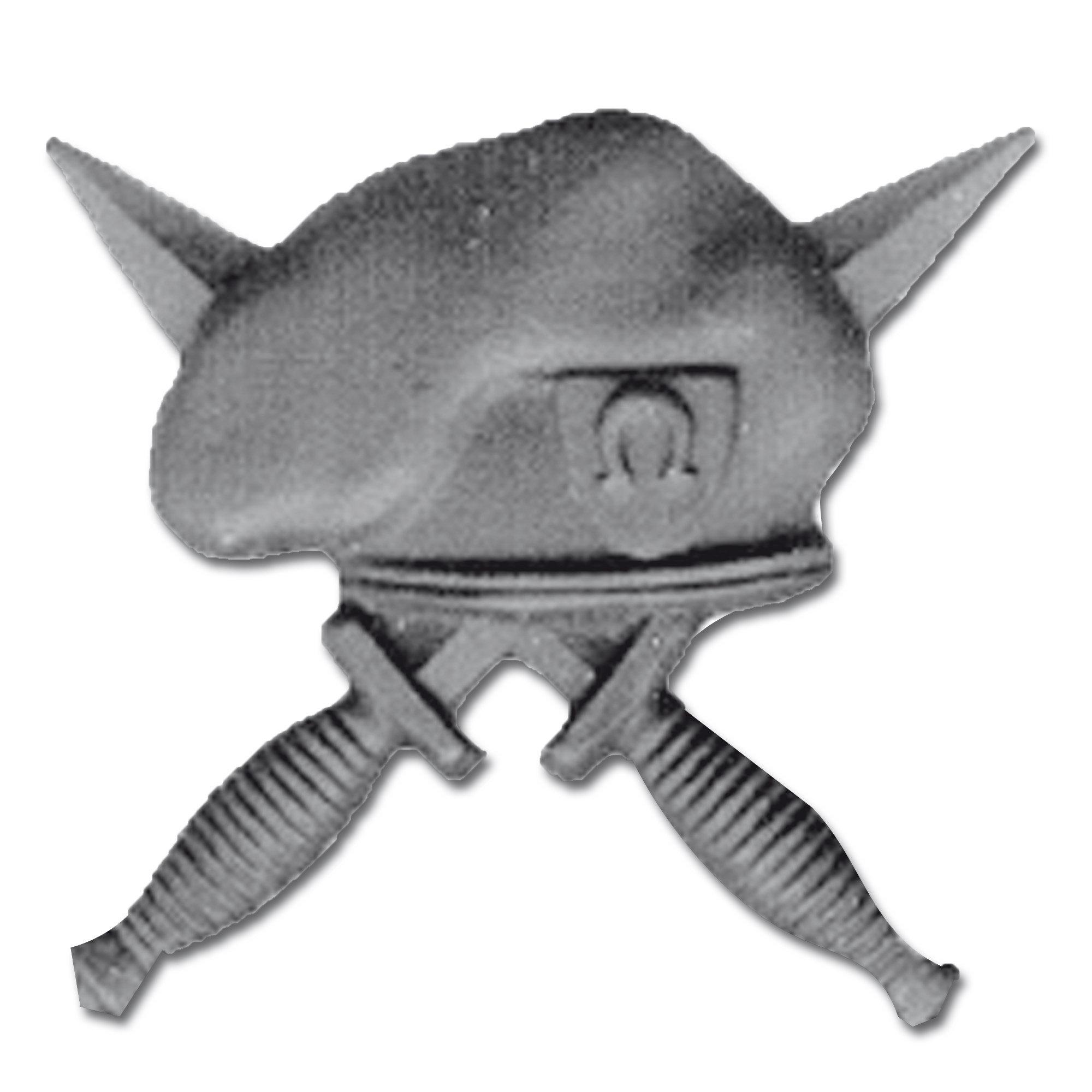 Abzeichen US Pin SOF schwarz