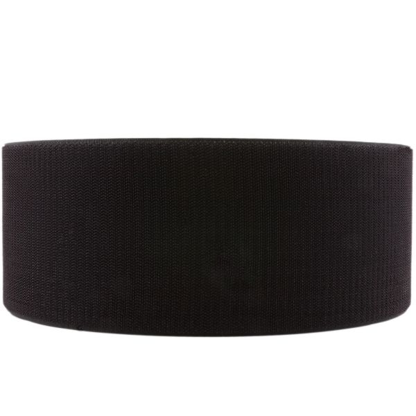 Klettband schwarz 100mm Haken Meterware