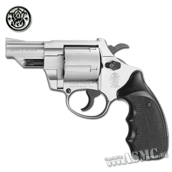 Revolver SW Combat vernickelt