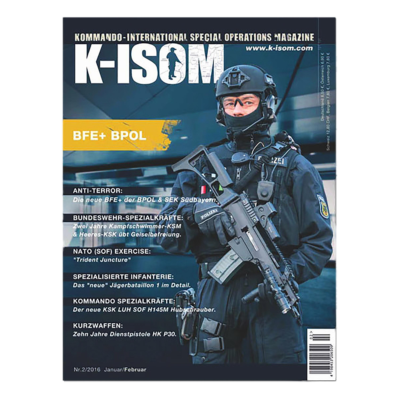 Kommando Magazin K-ISOM Ausgabe 02-2016