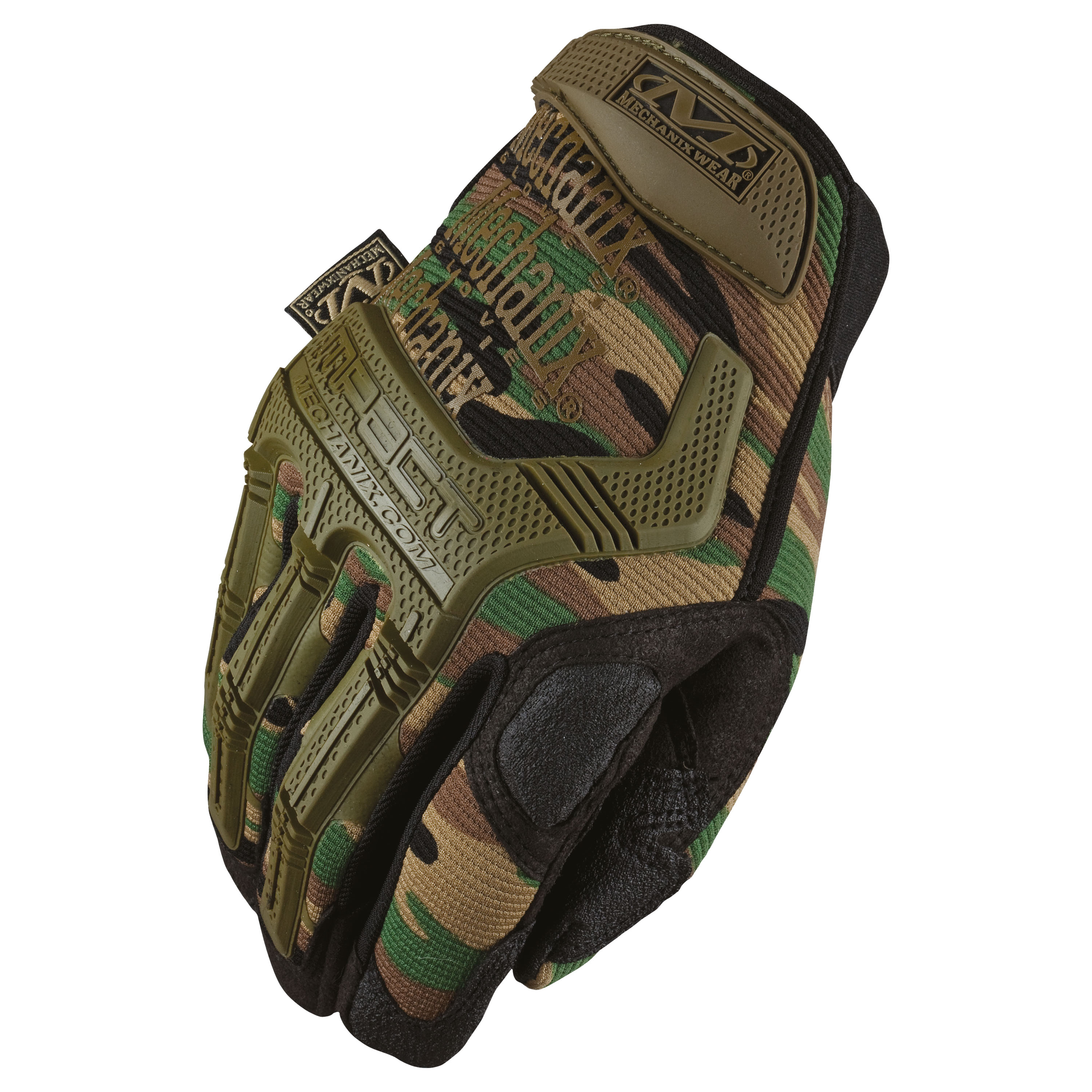Handschuhe Mechanix Wear M-Pact woodland