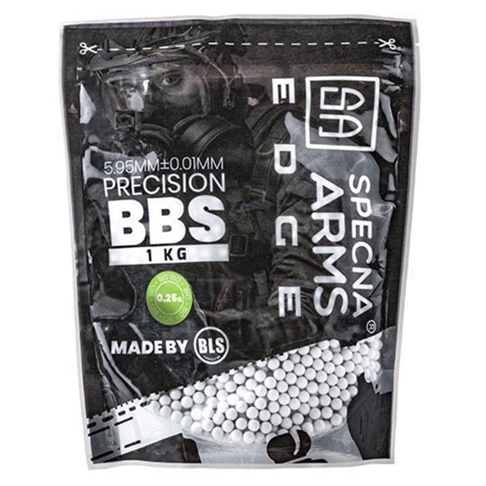 Specna Arms Edge Bio Precision BBs 0.25 g 4000 Stück weiß