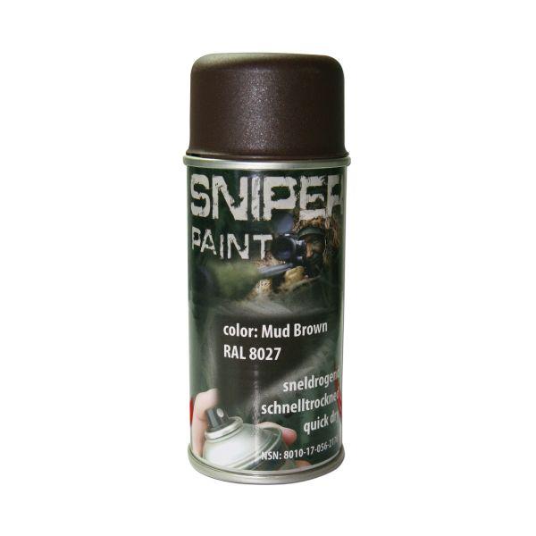 Sniper Paint Sprühfarbe braun