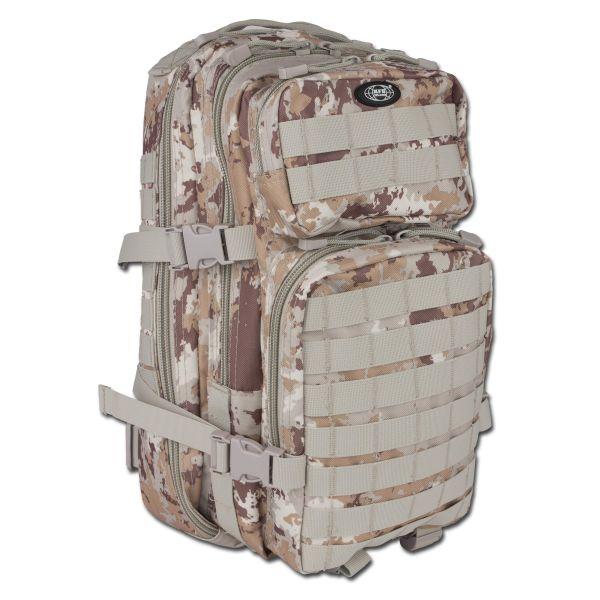 Rucksack US Assault Pack vegetato desert