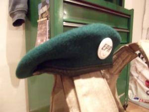 Beret vert logo airsoft