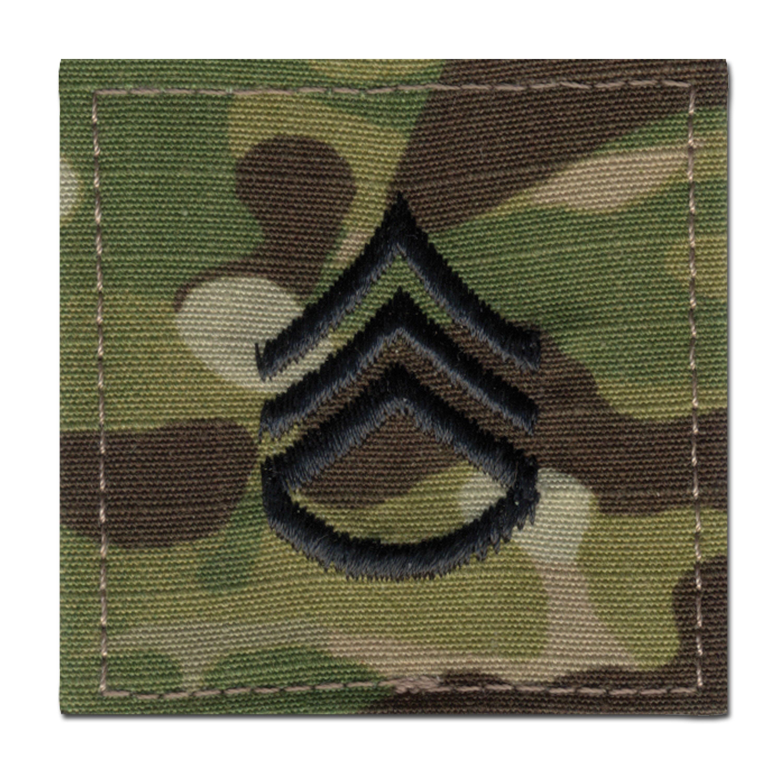 Rangabzeichen US Multicam Staff Sergeant