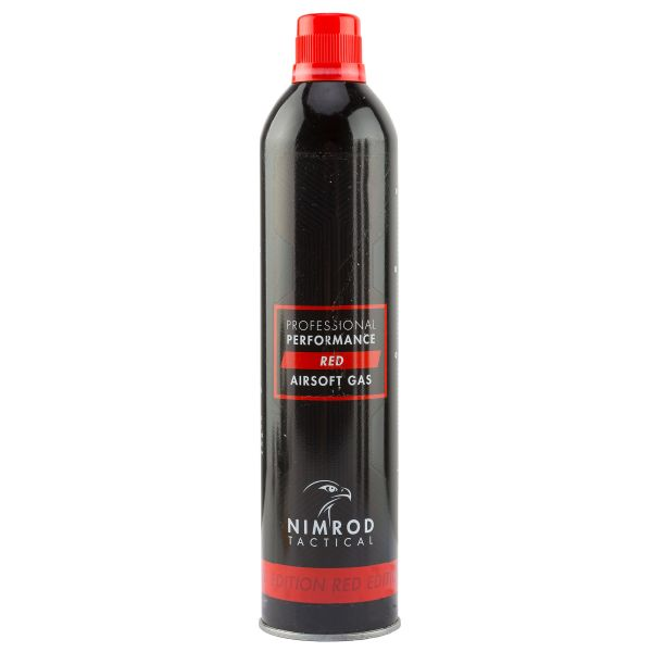 Nimrod Airsoft Gas Professional Performance Red Gas 500 ml