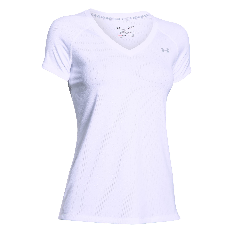 Under Armour Women T-Shirt HeatGear Armour weiß