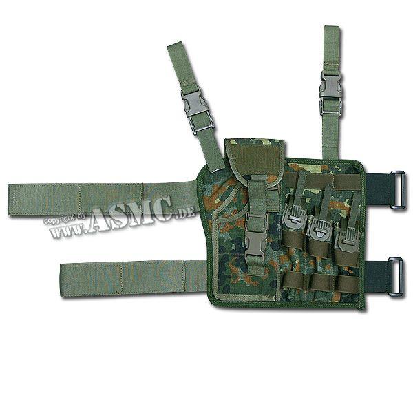 KSK Taktikholster P-8 flecktarn