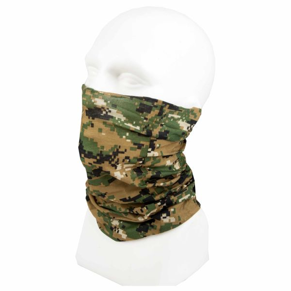 Headscarf digital woodland