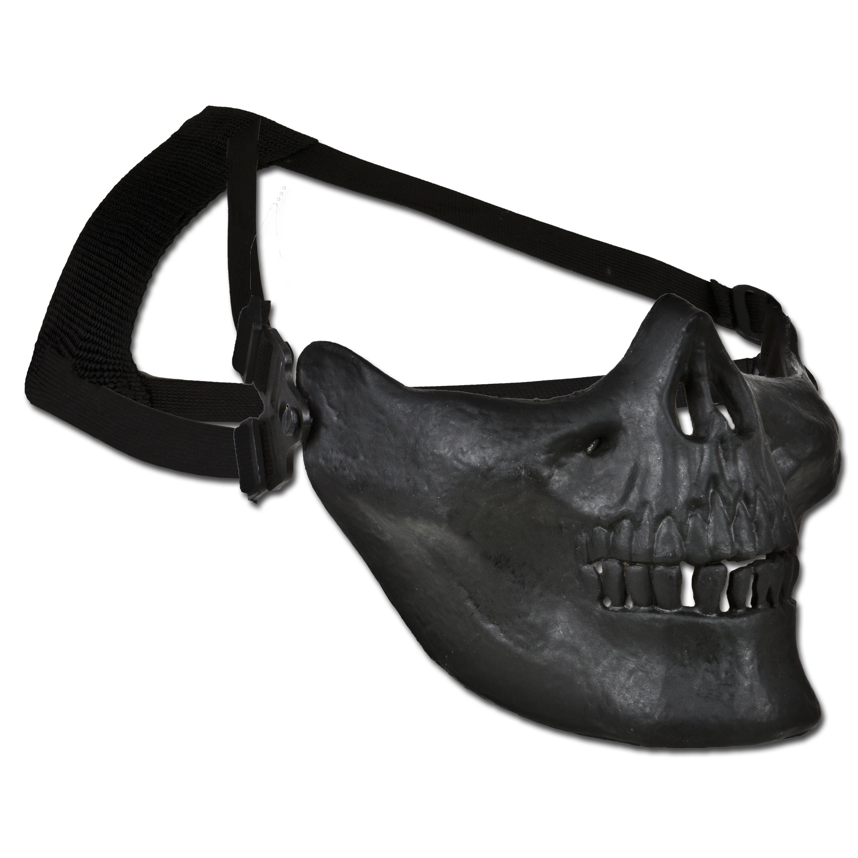 Gesichtschutz Totenkopfmaske Half Face