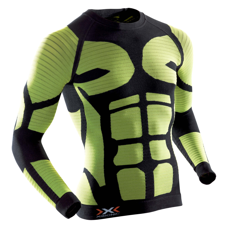 X-Bionic Hemd Precuperation schwarz gelb