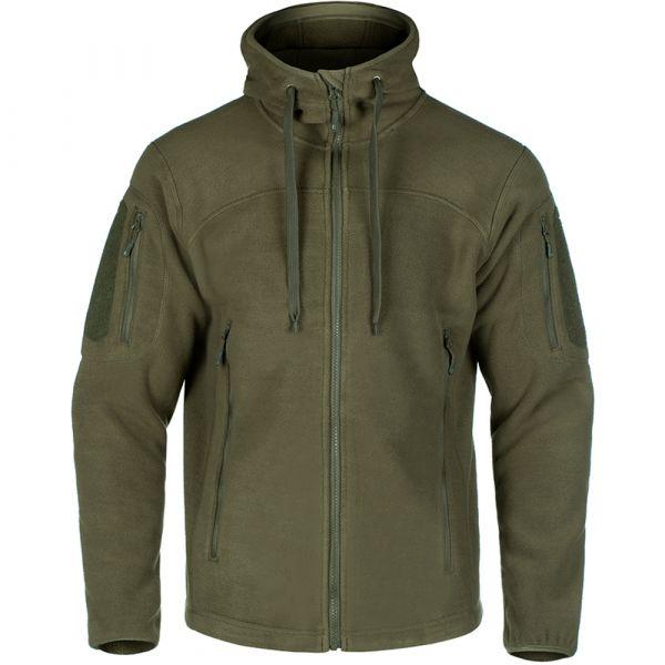 Claw Gear Milvago MK II Fleece Hoody steingrau oliv