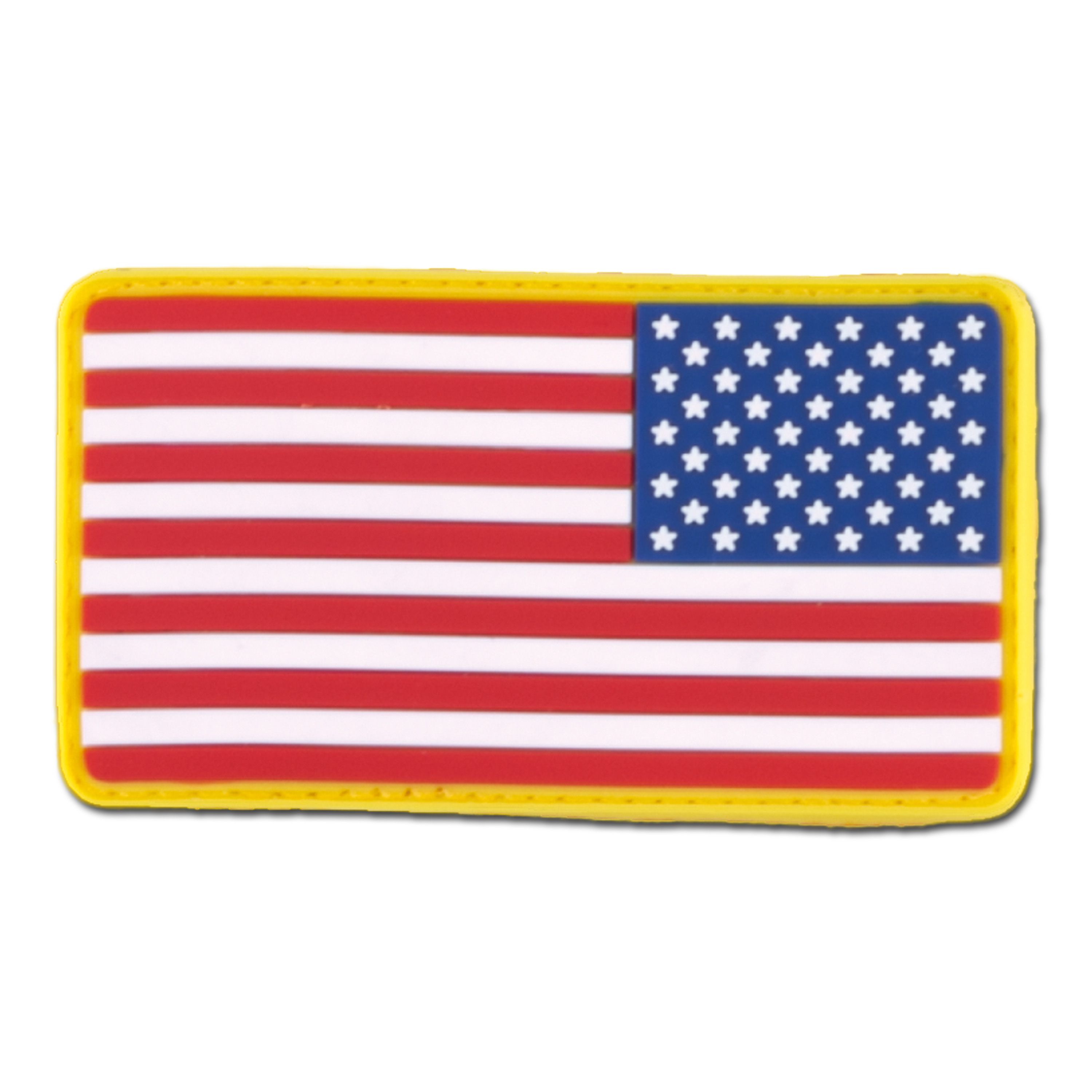 3D-Patch US Flag reversed full color