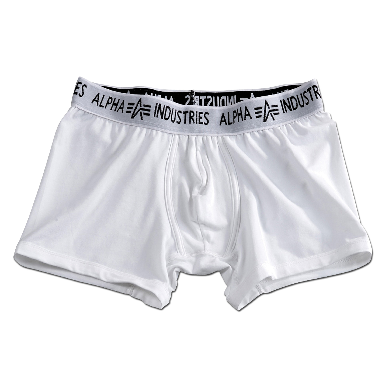Boxer Shorts Alpha Industries weiss