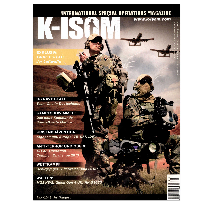 Kommando Magazin K-ISOM Ausgabe 04-13