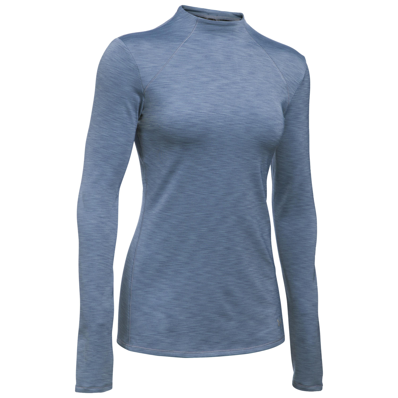 Under Armour Women Shirt ColdGear Mock dunkelblau