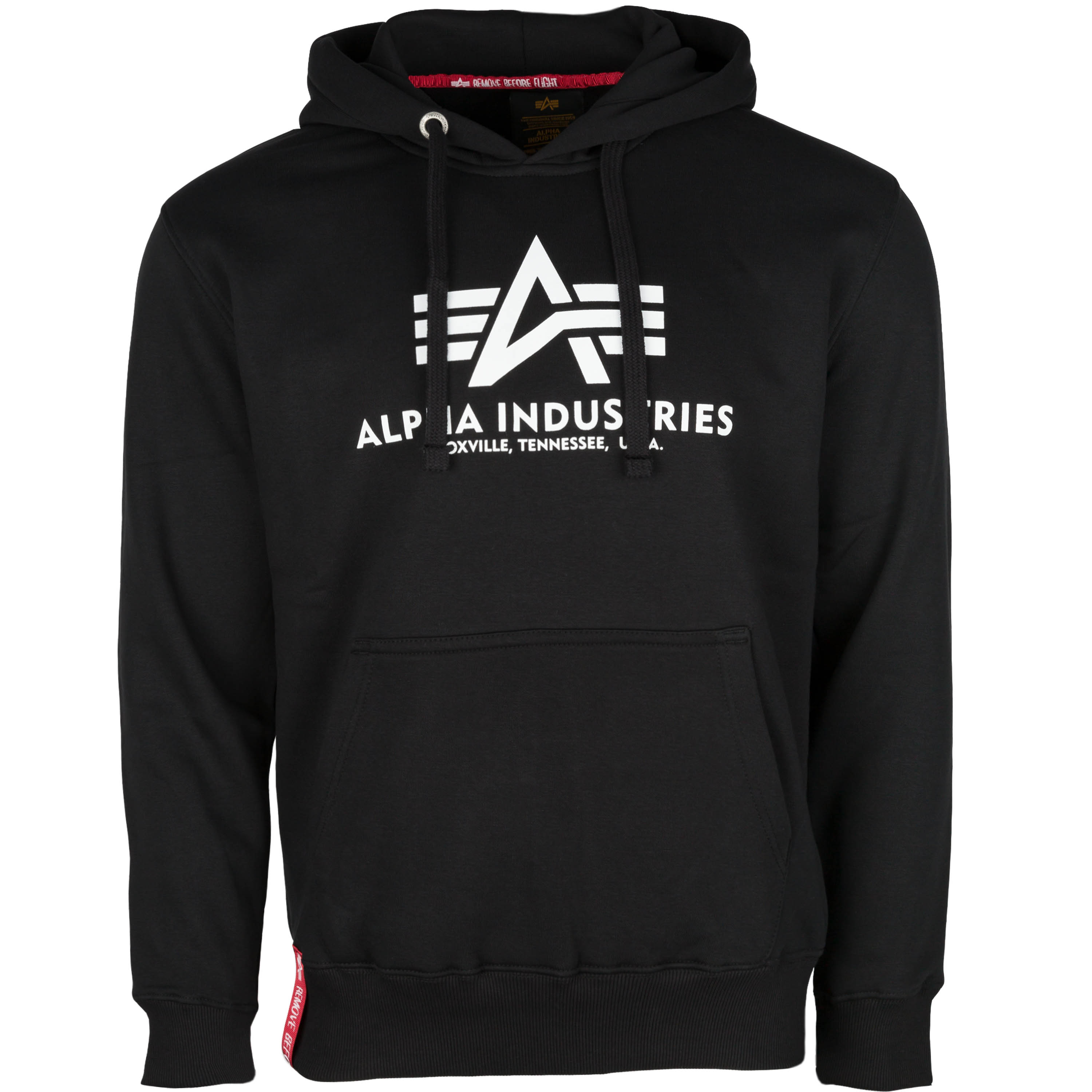 Alpha Industries Hoodie Basic schwarz