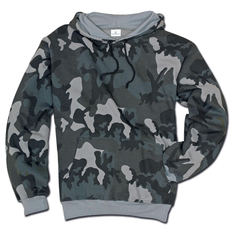 Hood Sweatshirt nightcamo