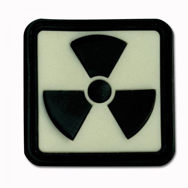 3D-Patch Radioaktiv nachleuchtend invers