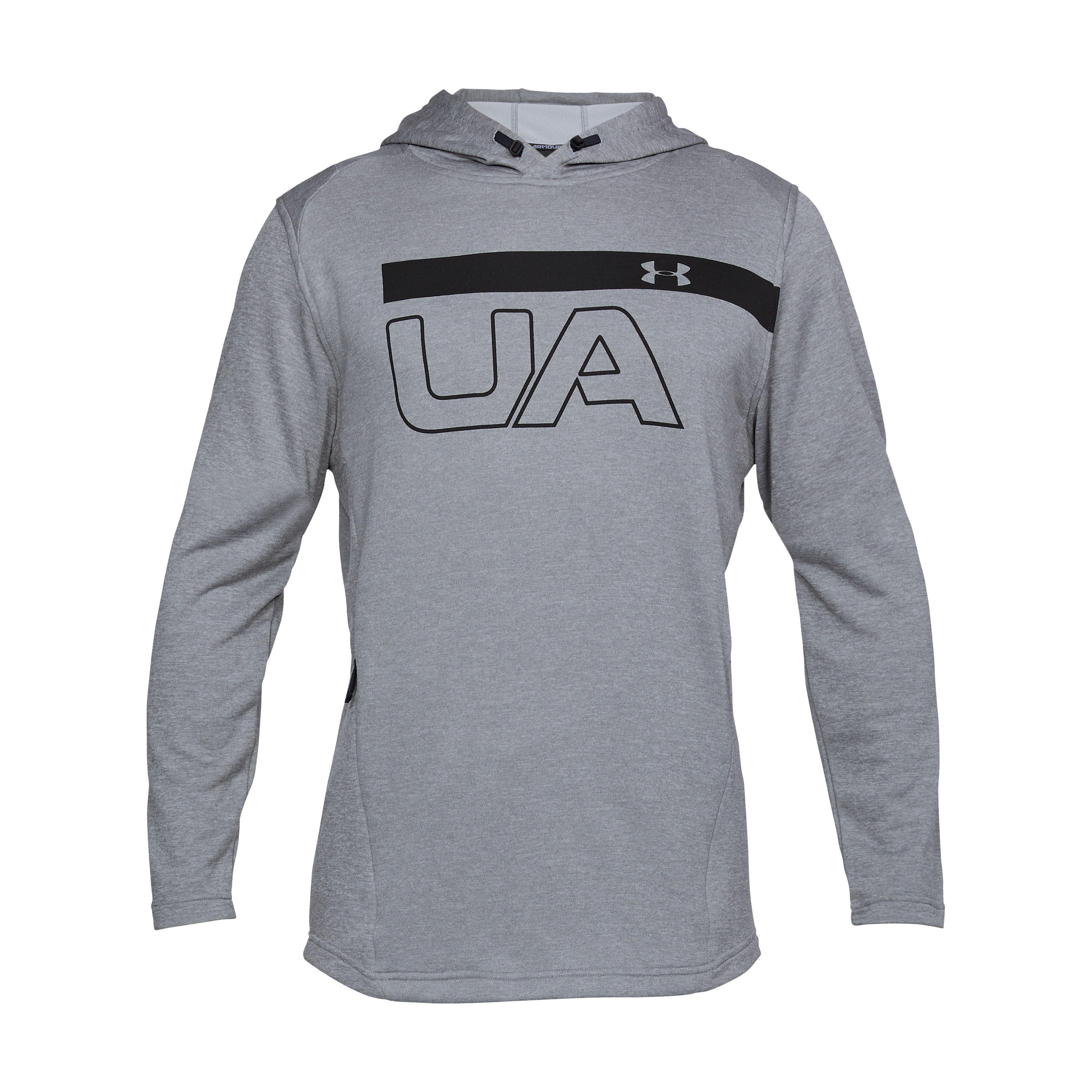 Under Armour Hoodie Tech Terry Graphic grau