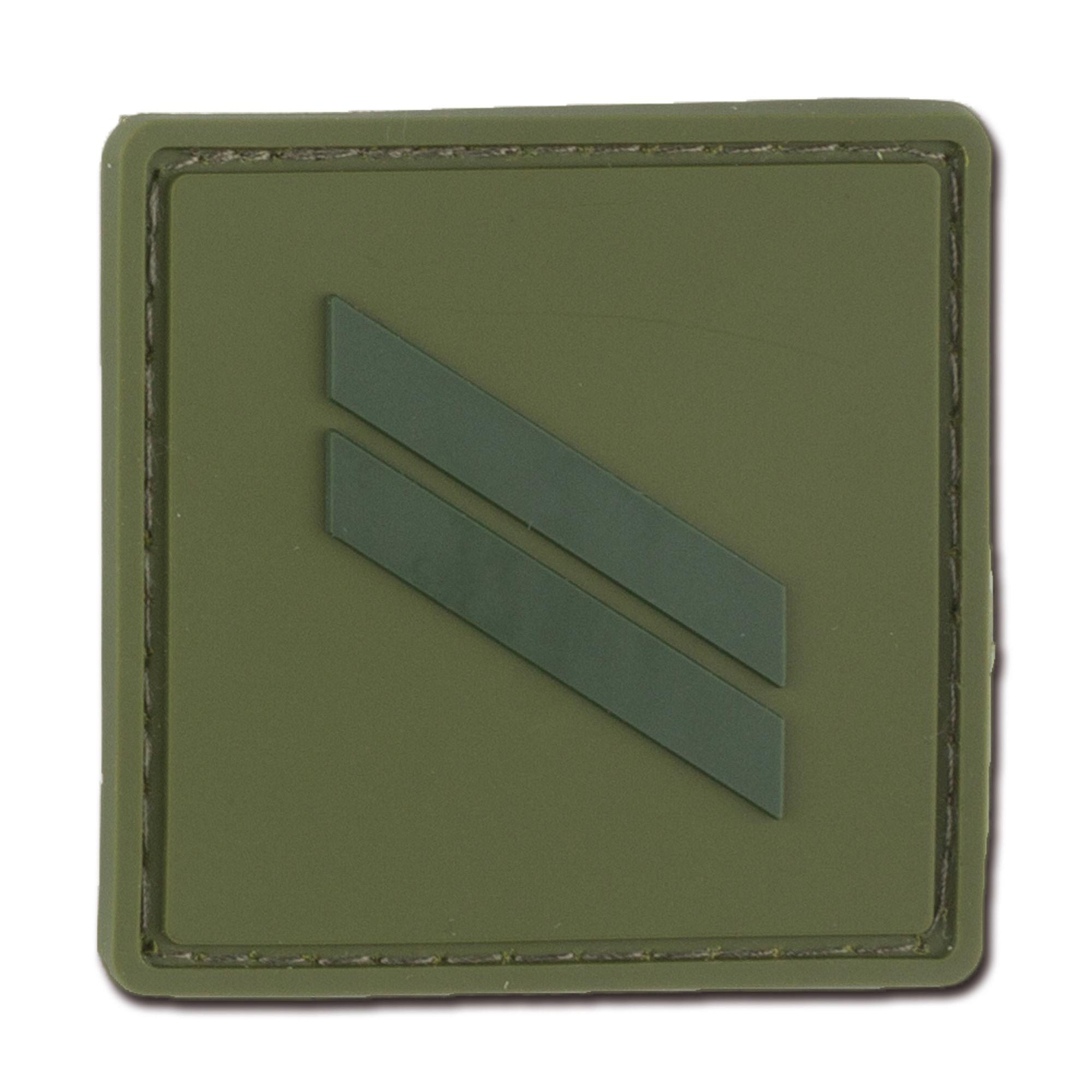 Dienstgradabzeichen Frankreich Sergent oliv tarn