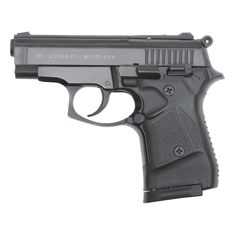Pistole Zoraki Mod. 914 brüniert schwarz